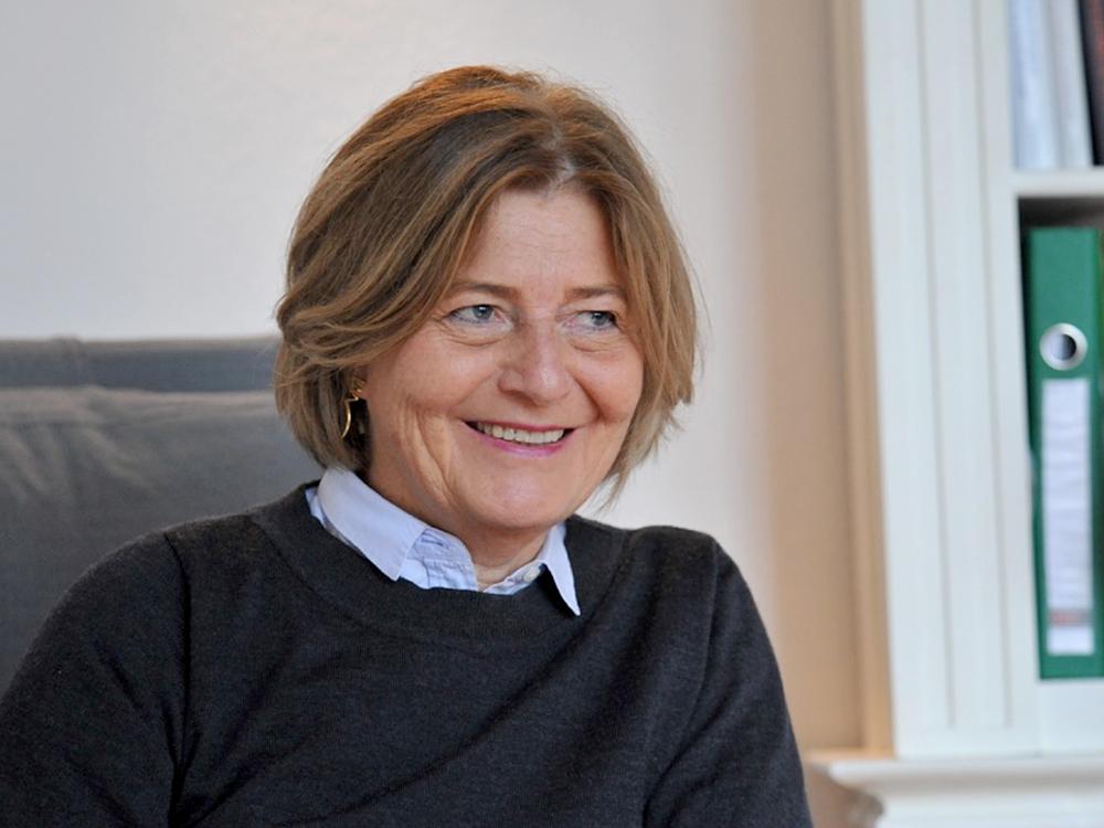 Heidi Brandi im Portrait